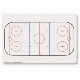 Hokejska tabla za trenerja REEBOK 49 x 70 cm
