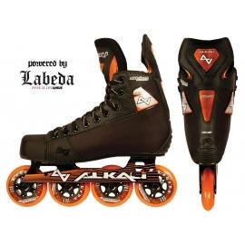 Hokejski rolerji ALKALI Lithium CA3 Black YTH