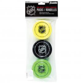 Franklin NHL MINI FOAM PUCK 3pcs