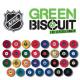 Plošček za trening GREEN BISCUIT - NHL